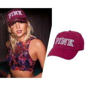 PINK Victoria's Secret Accessories - VS PINK baseball hat